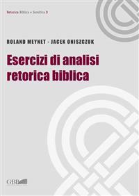 Esercizi Analisi Retorica Biblica