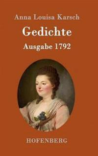 Gedichte (Ausgabe 1792)