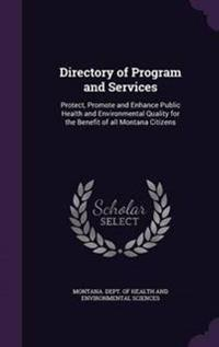 Directory of Program and Services
