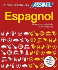 Coffret Cahiers d'Exercices Espagnol Faux-Debutants + Intermediaire