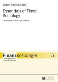 Essentials of Fiscal Sociology
