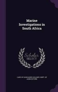 Marine Investigations in South Africa