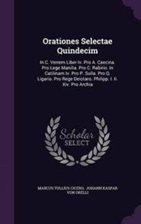 Orationes Selectae Quindecim