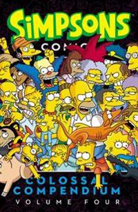 Simpsons Comics Colossal Compendium, Volume 4