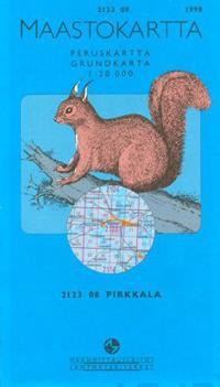 Maastokartta 2123 08 Pirkkala 1 20000 Kirjat Muu 9789514861864