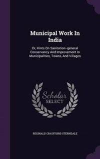 Municipal Work in India