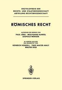 Romisches Recht ( 4th Ed )