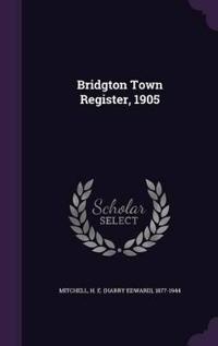 Bridgton Town Register, 1905