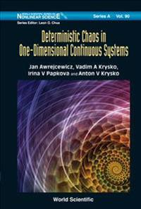 Deterministic Chaos in One-Dimensional Continuous Systems