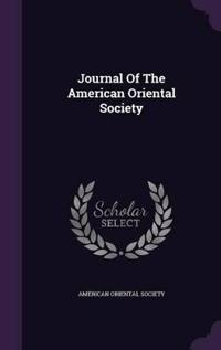 Journal of the American Oriental Society