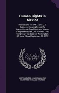 Human Rights in Mexico