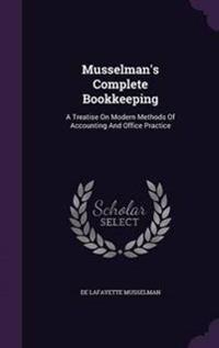 Musselman's Complete Bookkeeping