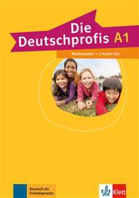 Die Deutschprofis A1. Medienpaket (2 Audio-CDs)
