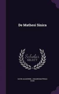 de Mathesi Sinica