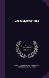 Greek Inscriptions