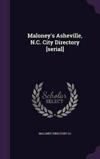 Maloney's Asheville, N.C. City Directory [Serial]