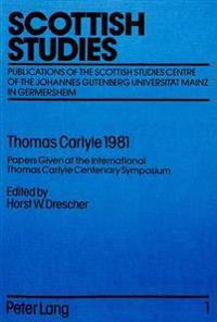 Thomas Carlyle 1981