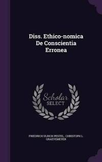 Diss. Ethico-Nomica de Conscientia Erronea