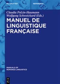 Manuel de Linguistique Fran aise