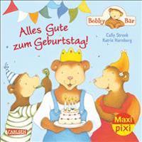 Maxi-Pixi Nr. 183: VE 5 Bobby Bär: Alles Gute zum Geburtstag!