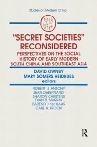 Secret Societies Reconsidered
