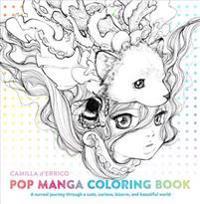 Pop Manga Adult Coloring Book