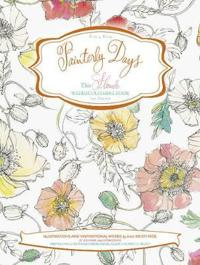 The Flower Watercoloring Book for Adults