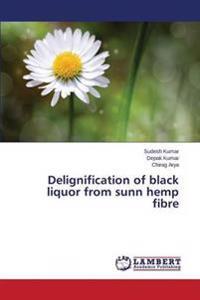 Delignification of Black Liquor from Sunn Hemp Fibre