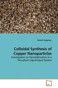 Colloidal Synthesis of Copper Nanoparticles
