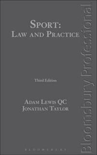 Sport: Law and Practice