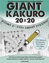 Giant Kakuro Volume 2: 100 20x20 Puzzles & Solutions - Now Even Harder!