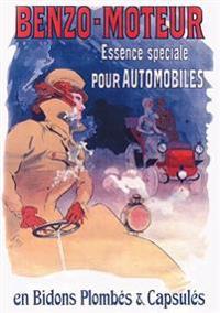 Carnet Ligné Affiche Benzo Essence Automobiles