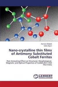 Nano-Crystalline Thin Films of Antimony Substituted Cobalt Ferrites