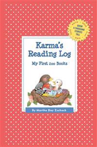 Karma's Reading Log