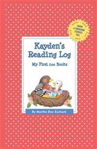 Kayden's Reading Log