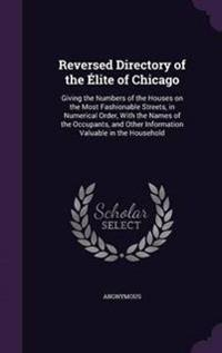Reversed Directory of the Elite of Chicago