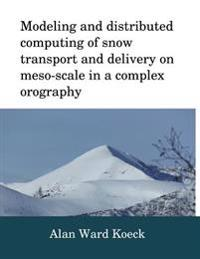 Modeling and Distributed Computing of Snow Transport and Delivery