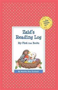 Zaid's Reading Log