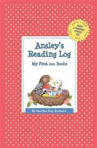 Ansley's Reading Log