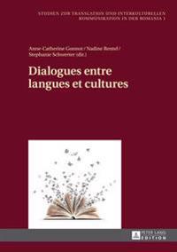 Dialogues Entre Langues Et Cultures