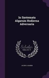 In Systemata Algarum Hodierna Adversaria
