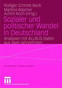 Sozialer Und Politischer Wandel in Deutschland