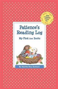 Patience's Reading Log