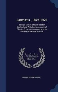 Lauriat's, 1872-1922