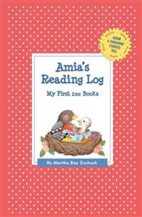 Amia's Reading Log