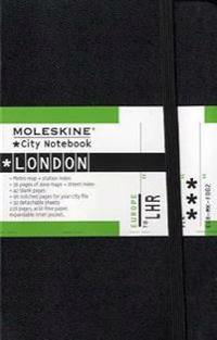 Moleskine City Notebook - London, Pocket, Black, Hard Cover (3.5 X 5.5)