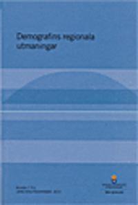 Demografins regionala utmaningar. SOU 2015:101. : Bilaga 7 till Långtidsutredningen