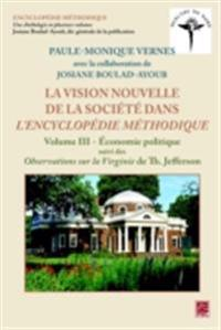 Vision nouvelle de la societe dans L'Encyclopedie methodique