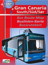 Gran Canaria south = Gran Canaria süd : Buslinien-Karte = Gran Canaria sør :  bussrutekart - Pål H. Gjerden pdf epub
