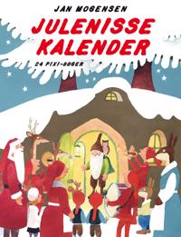 Julenisse kalender; 24 pixi-bøger